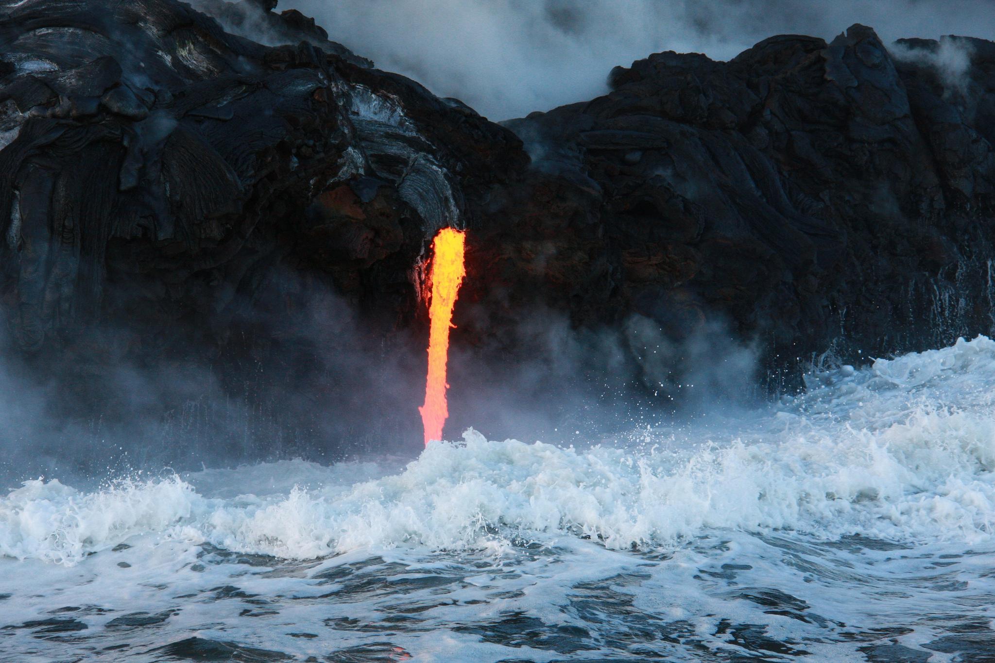 el marketing es como un volcán